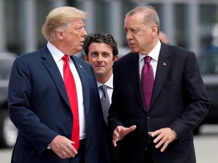 Трамп и Эрдоган обсудили ситуацию в сирийском Идлибе