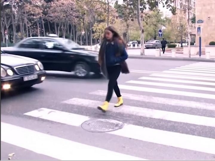 Дорожная полиция Баку обратилась к пешеходам - ВИДЕО