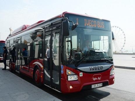 Bakıda ekspress xətlər üzrə avtobusların cədvəli açıqlandı