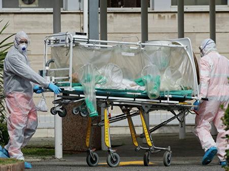 Число жертв коронавируса в Италии за сутки выросло на 760 человек