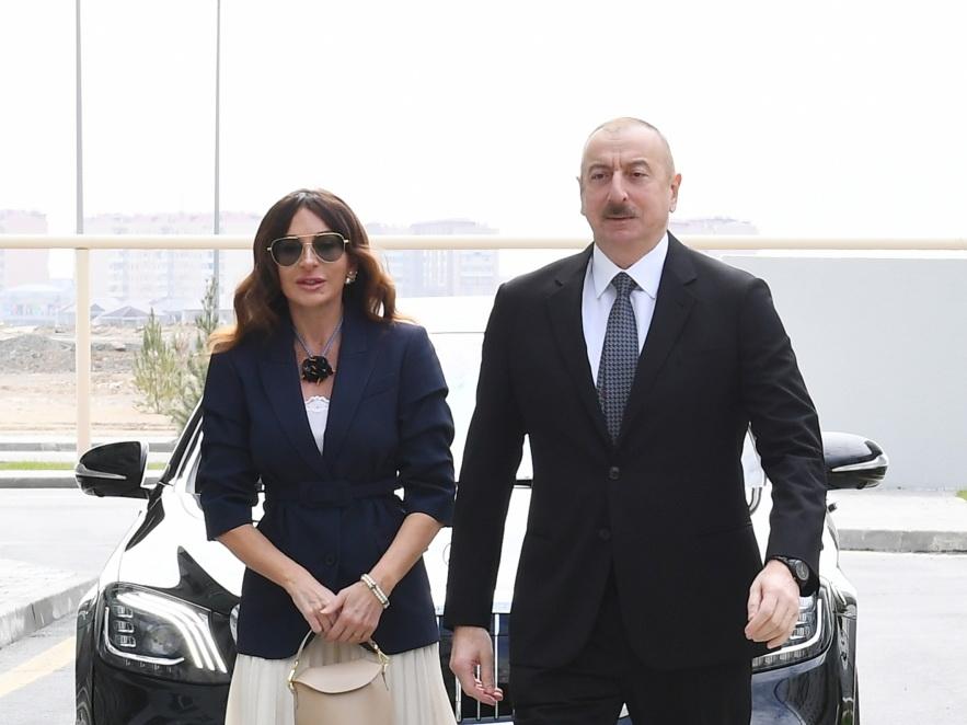 Президент Ильхам Алиев принял участие в открытии жилого комплекса в Говсане – ФОТО - ВИДЕО