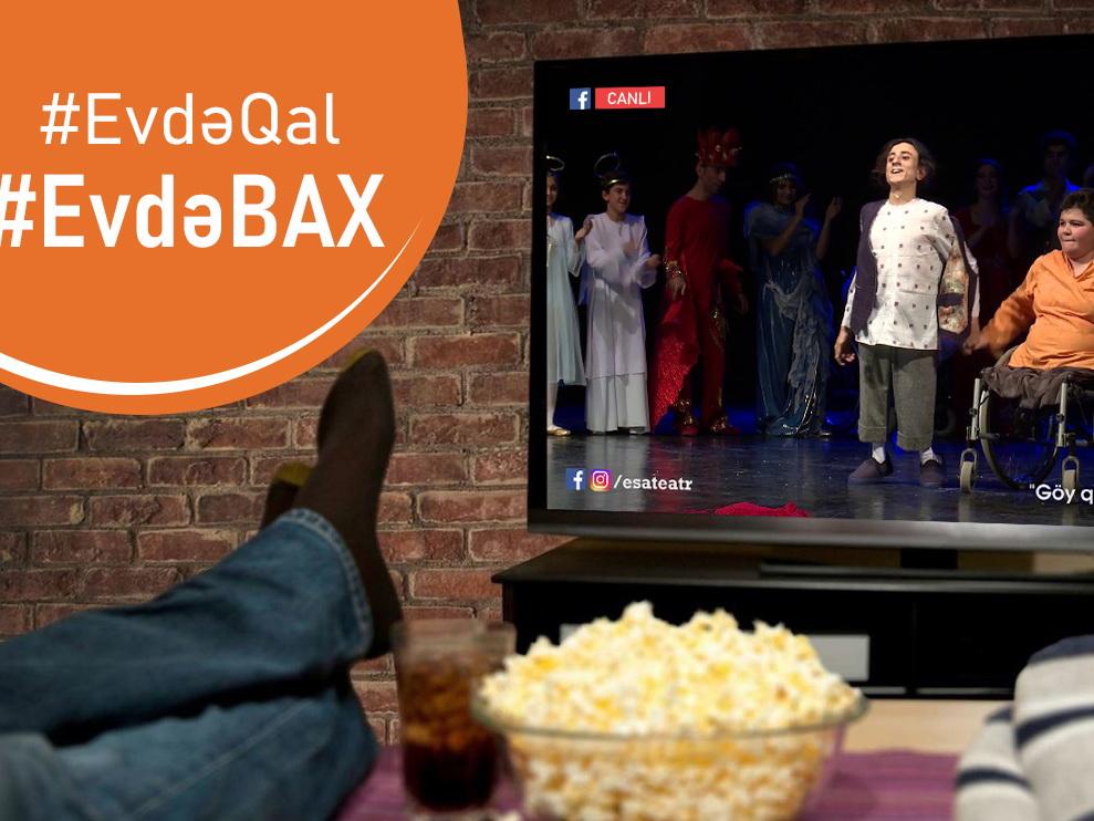 #EvdəBax: Инклюзивный театр ƏSA приступил к деятельности в online режиме – ВИДЕО