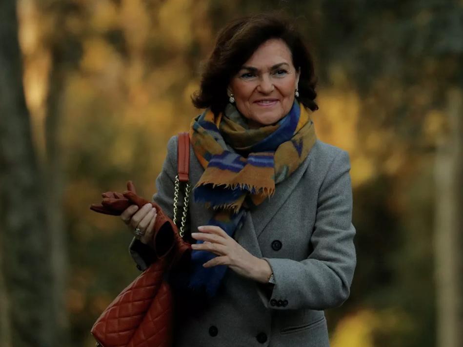 Вице-премьер Испании Кармен Кальво заразилась коронавирусом