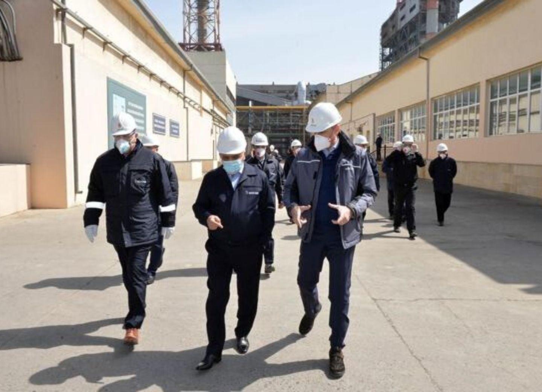 Ровнаг Абдуллаев ознакомился с профилактикой коронавируса на главном НПЗ Азербайджана - ФОТО