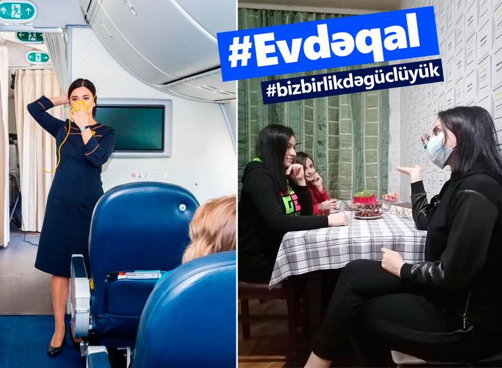 AZAL #EVDƏQAL təşəbbüsü çərçivəsində yeni kampaniyaya start verir - FOTO