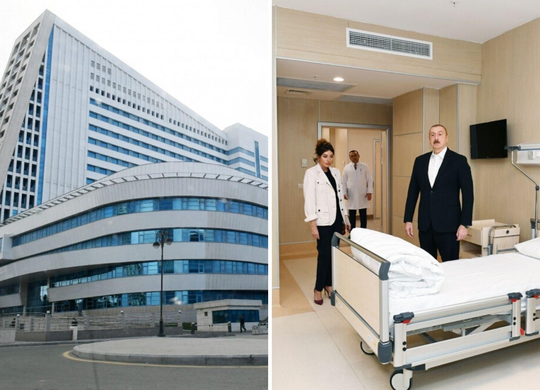 Президент Ильхам Алиев принял участие в открытии медицинского учреждения Yeni klinika в Баку - ФОТО