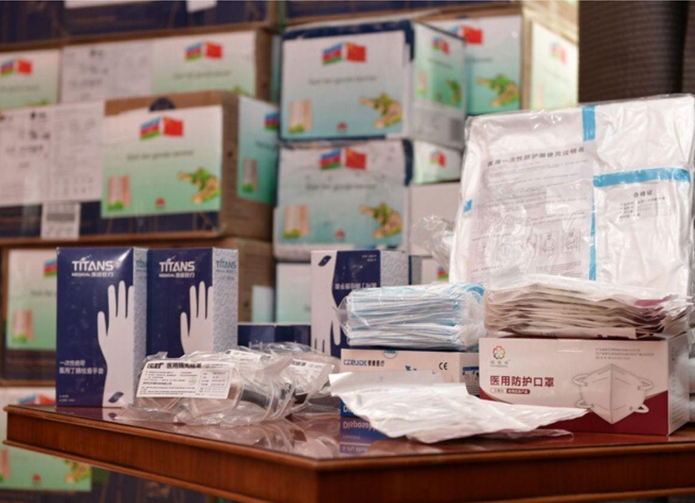 HuaweiAzerbaijanоказал поддержку Фонду Гейдара Алиева в борьбе с коронавирусом- ФОТО
