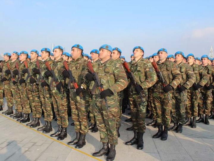 В Баку военнослужащие Внутренних войск привлечены к совместной службе с полицией