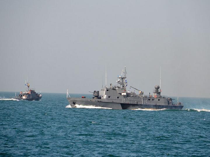 Военно-морские силы Азербайджана провели тактическое учение – ФОТО – ВИДЕО