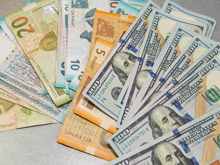 Курс маната по отношению к доллару на 30 марта