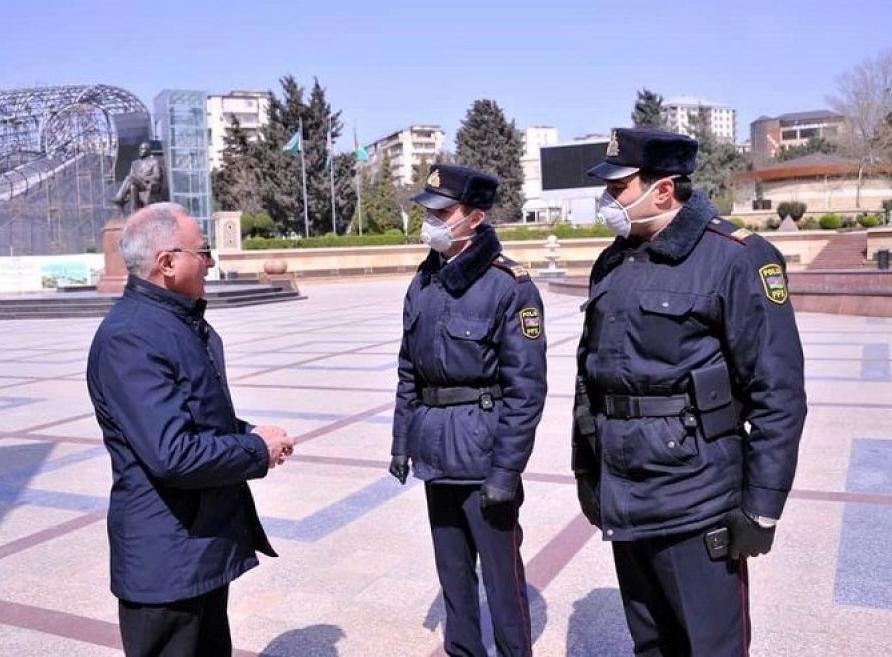 Bakıda xüsusi karantin rejimini pozan 313 nəfər cəzalandırıldı
