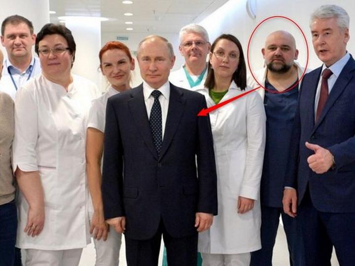 Врач, который встречался с Путиным, заболел коронавирусом - ФОТО