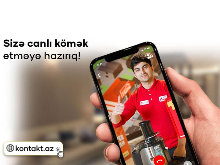 Kontakt Home-dan unikal xidmət – AZƏRBAYCANDA İLK DƏFƏ