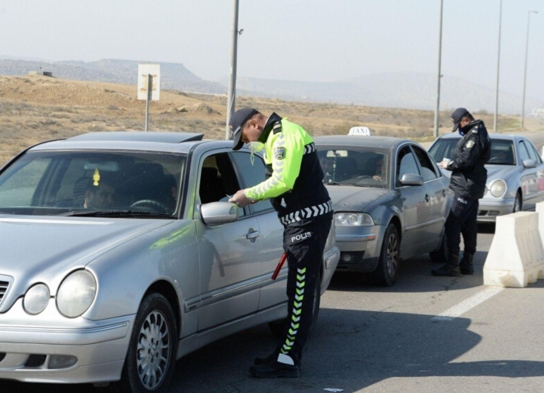 Дорожная полиция: Ежедневно более тысячи машин пытаются проехать в Баку