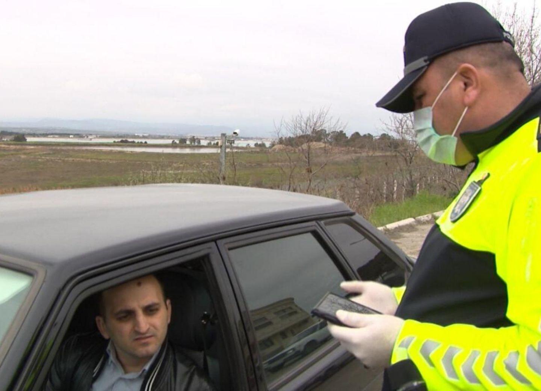 Свыше 2 тысяч водителей и пассажиров оштрафованы за нарушение карантина