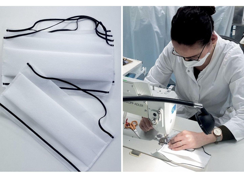 Модный дом Dior приступил к пошиву медицинских масок - ФОТО