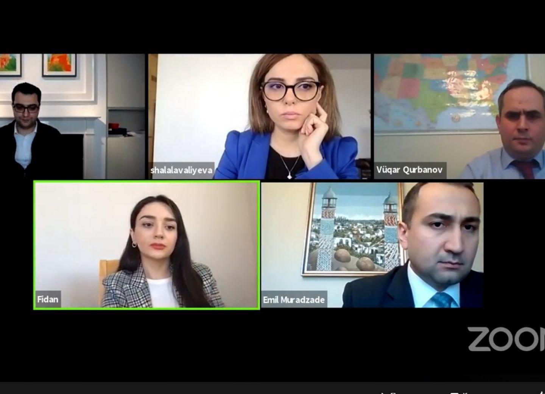 Американо-азербайджанская торговая палата провела онлайн-сессию - ВИДЕО