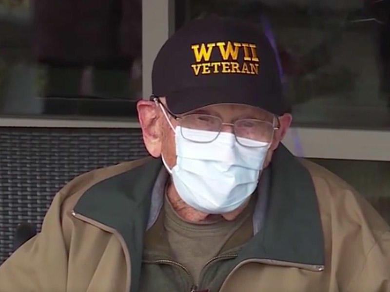 104 yaşlı müharibə veteranı koronavirusa qalib gəldi