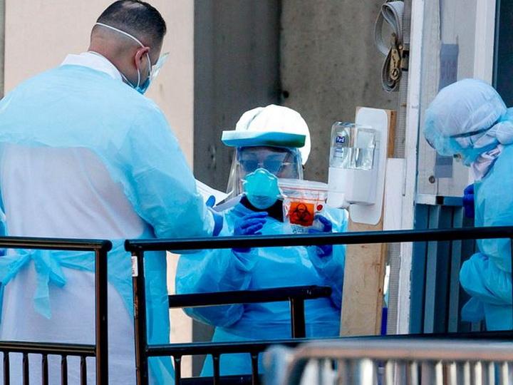 В штате Нью-Йорк за сутки умерли 594 заразившихся коронавирусом