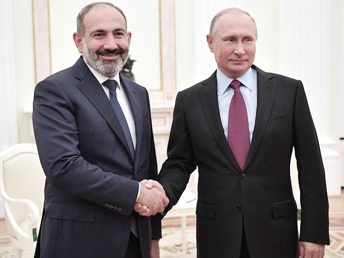 Путин и Пашинян обсудили борьбу с коронавирусом