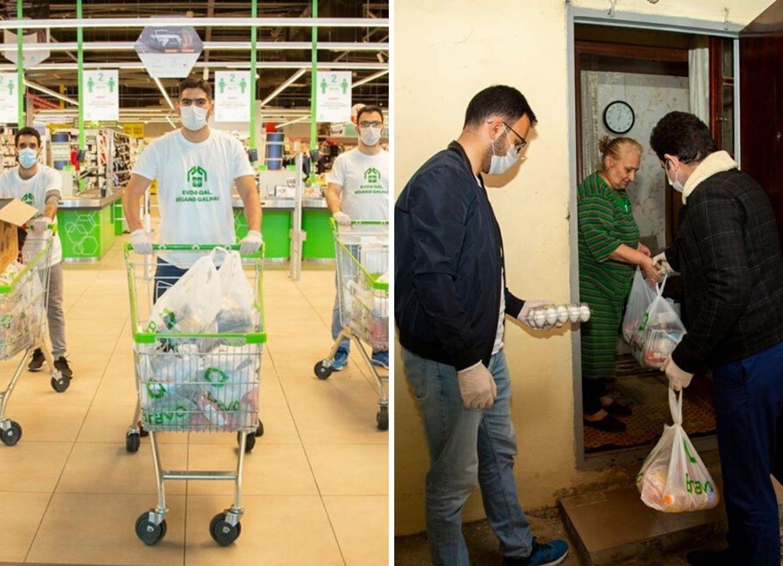 «Мы хотим запустить пандемию добра». О прекрасных инициативах азербайджанцев помочь пожилым и нуждающимся – ФОТО