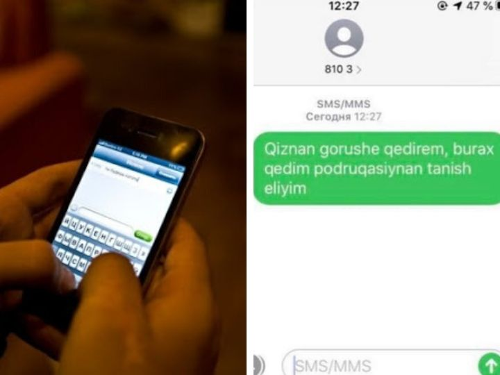 """""""Qızla görüşə gedirəm, burax gedim..."""" – SMS-xuliqanları tapılaraq cəzalandırılacaq – VİDEO"""