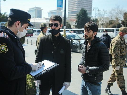 В Азербайджане за нарушение карантина арестованы 6 человек, 3 800 оштрафованы