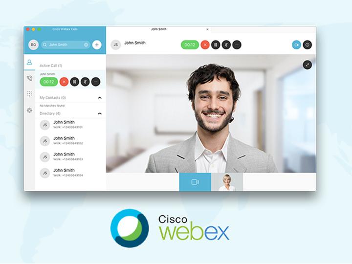 Cisco WebEx səmərəli məsafədən iş təşkil edir
