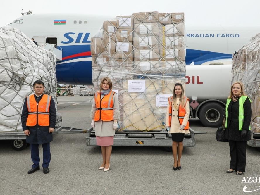 Китайские фонды «Джека Ма» и «Aлибаба» направили в Азербайджан медицинскую гуманитарную помощь - ФОТО