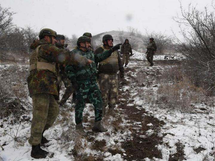 Генерал Эльчин Гулиев проверил, как несут службу пограничники в Газахе - ФОТО