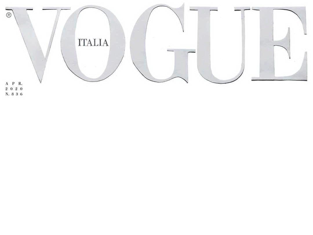 В знак уважения к врачам итальянский Vogue впервые в истории выйдет с белой обложкой – ФОТО