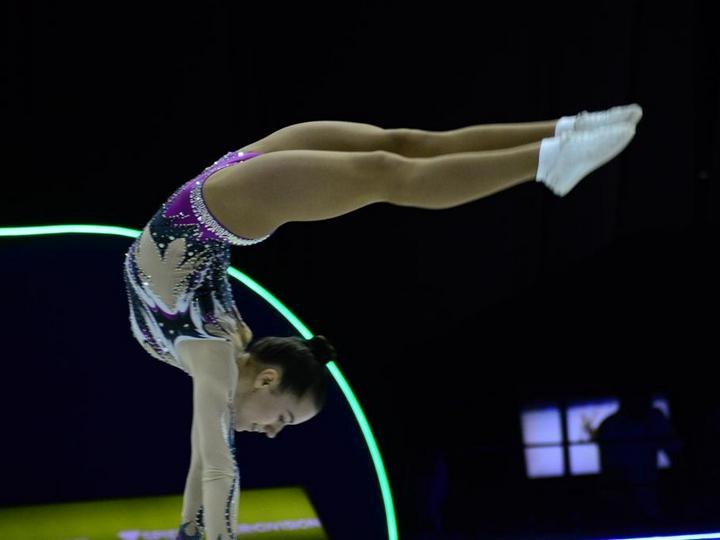 Bakıdakı aerobika gimnastikası üzrə dünya çempionatı 2021-ci ilə keçirilib