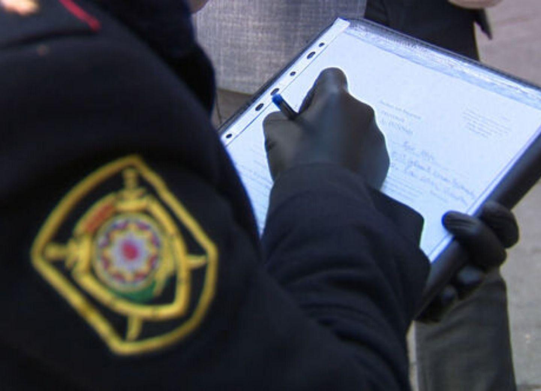 В Баку оштрафованы нарушители карантина