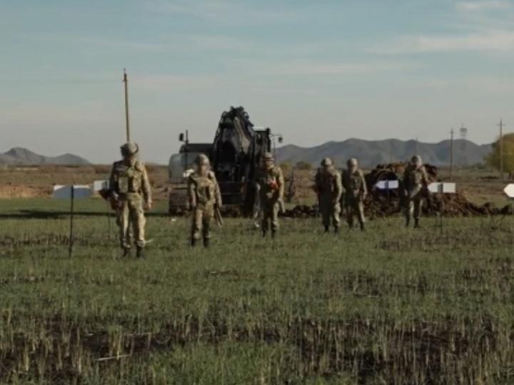 Освобожденные территории в Нахчыване очищаются от мин – ВИДЕО – ФОТО