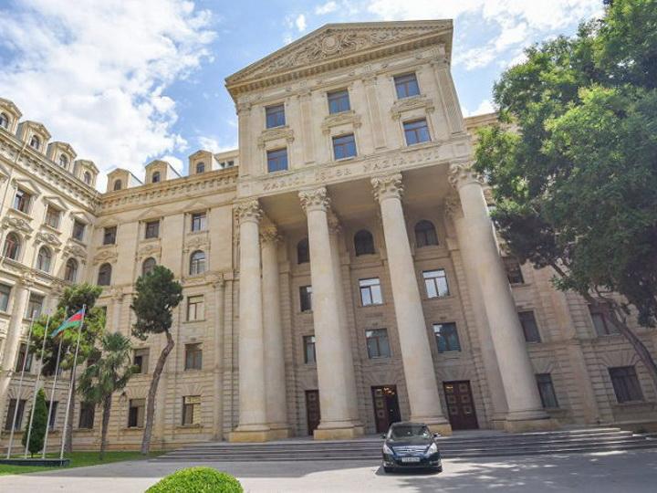 МИД: Поздравление главы Армении - высшая степень лицемерия