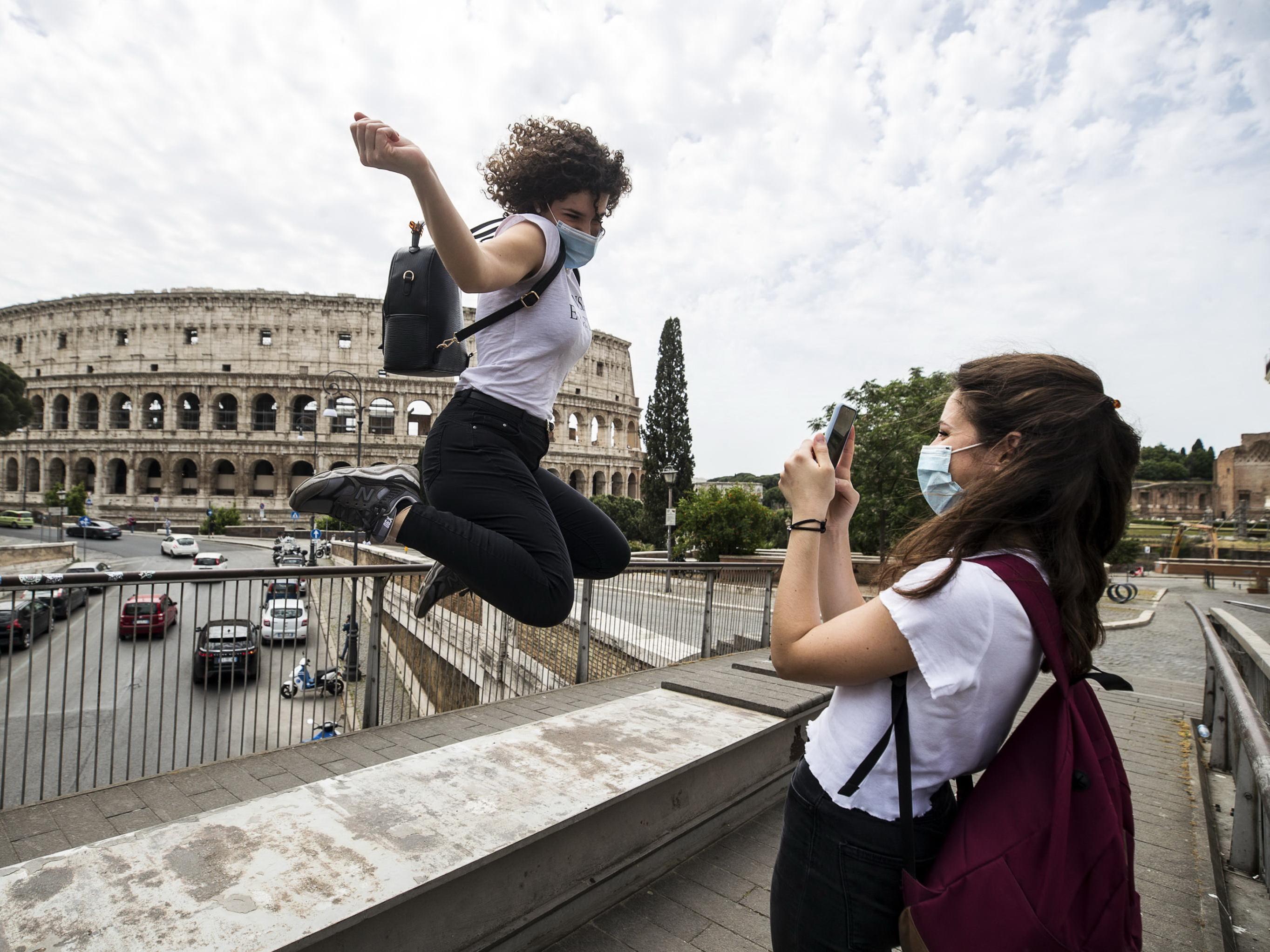 Италия возвращается к жизни – ФОТО
