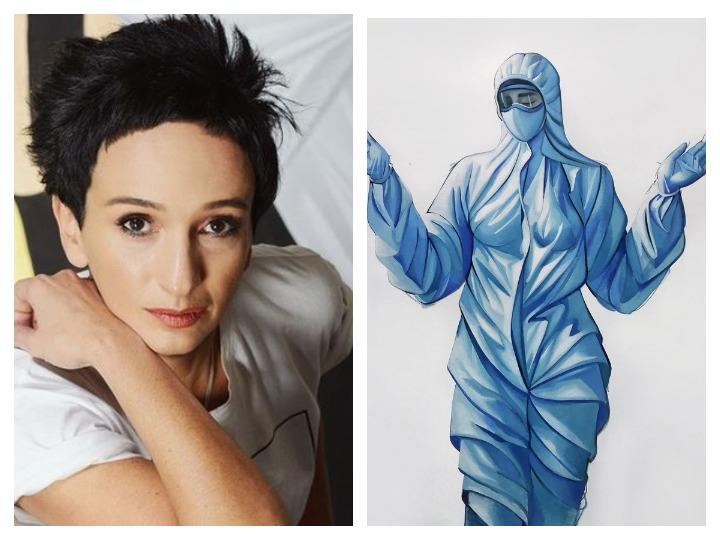 «Новые святые»: Vogue опубликовал работу Айдан Салаховой, посвященную врачам, борющимся с коронавирусом – ФОТО