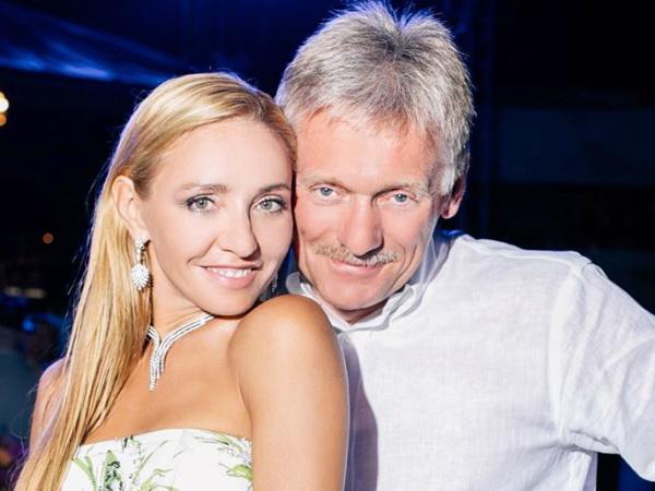 Татьяна Навка вылечилась от COVID-19, а Дмитрий Песков пока в больнице