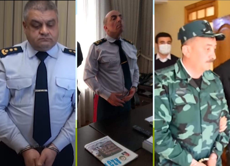 Арестована группа должностных лиц Госпогранслужбы Азербайджана - ФОТО - ВИДЕО