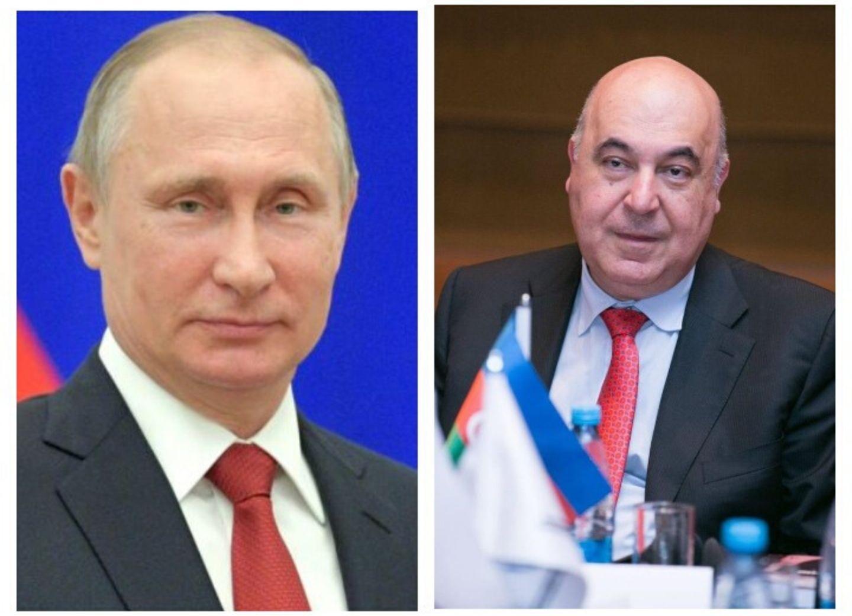 Владимир Путин наградил Чингиза Абдуллаева орденом Дружбы