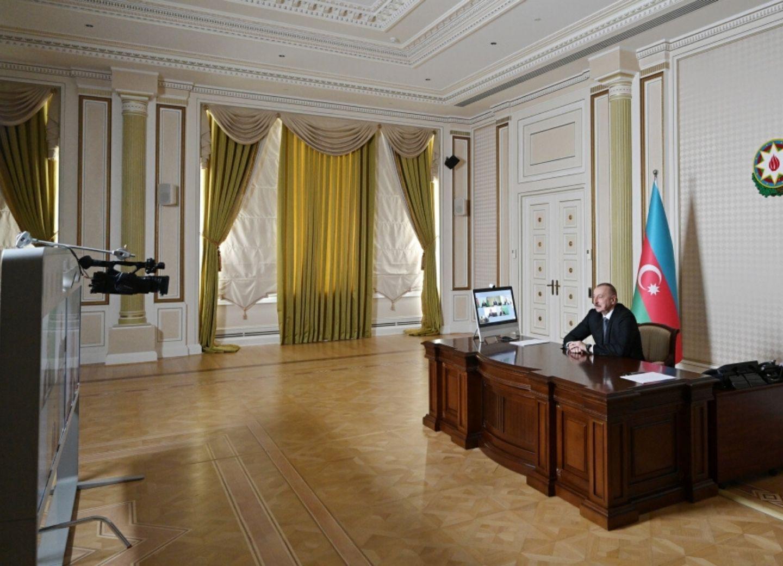 По инициативе компанииSignifyсостоялась видеоконференция между Президентом Ильхамом Алиевым и руководителями компании- ФОТО