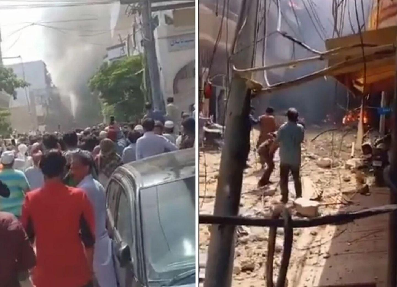 В результате крушения самолета в Пакистане погибли по меньшей мере 107 человек - ВИДЕО - ОБНОВЛЕНО