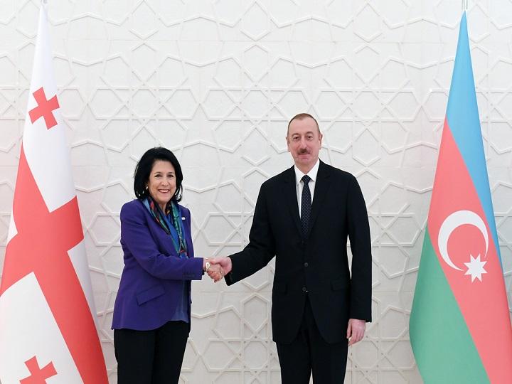 Zurabişvili Prezident İlham Əliyevə təbrik məktubu göndərib