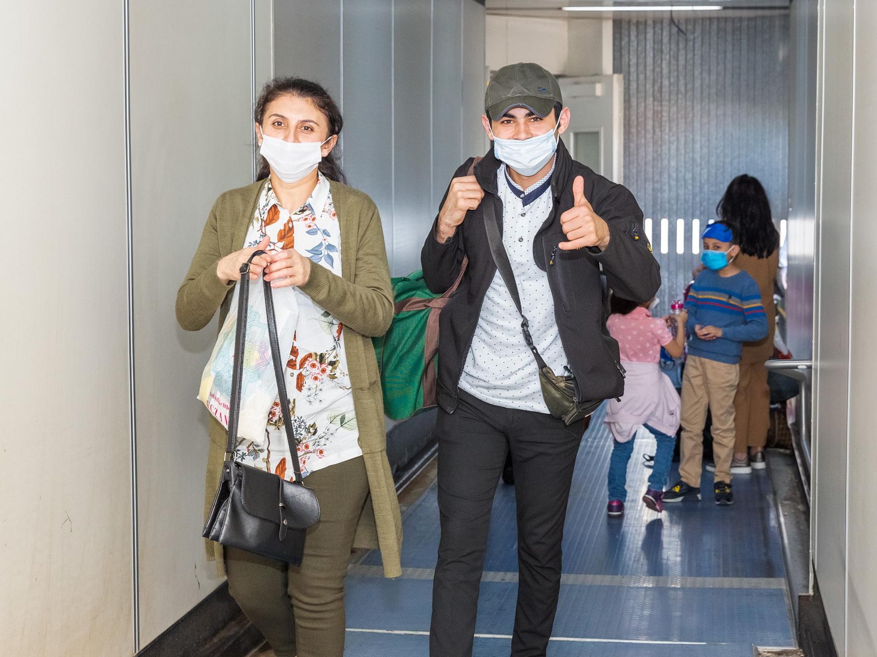 Из Стамбула в Баку доставлено 178 граждан Азербайджана - ФОТО
