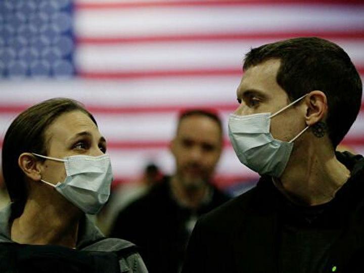 В США за сутки выявили более 20,6 тысячи новых случаев коронавируса