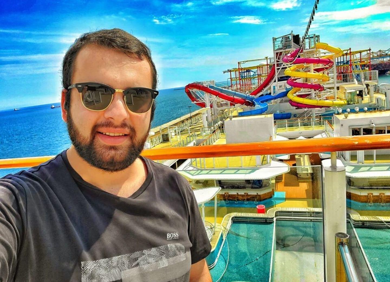 «Мне очень повезло!» Фарид Мусабеков рассказал о карантине на роскошном круизном лайнере – ФОТО