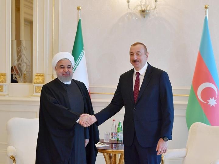 Президент Ирана поздравил Президента Азербайджана