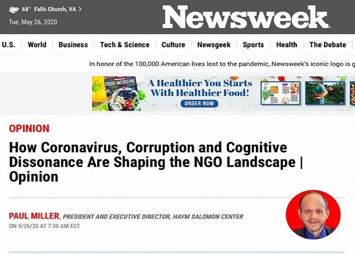 """Amerikanın """"Newsweek"""" jurnalı ikili standartlar və Ermənistanın işğalçı siyasəti barədə məqalə dərc edib"""