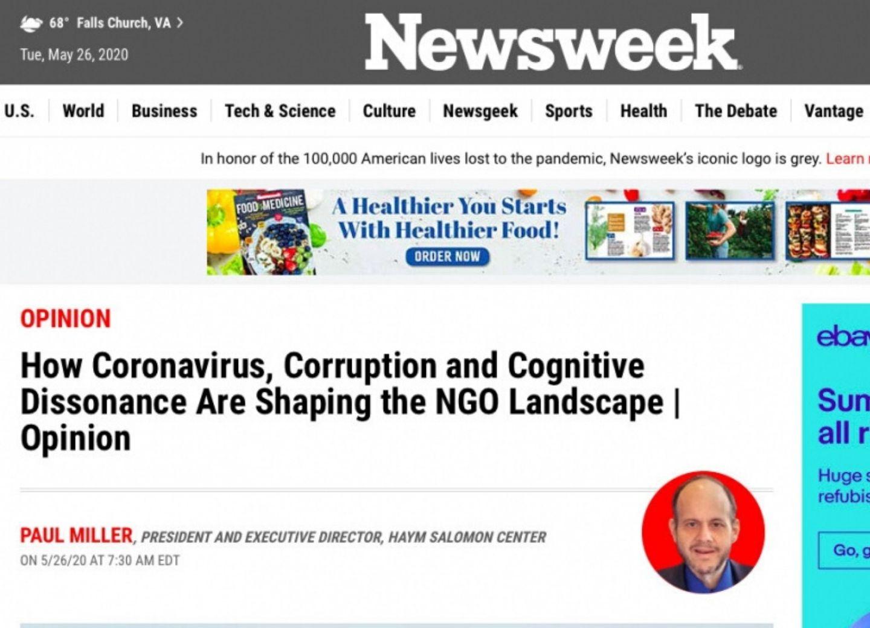 Американский журнал Newsweek о двойных стандартах в мире и оккупационной политике Армении