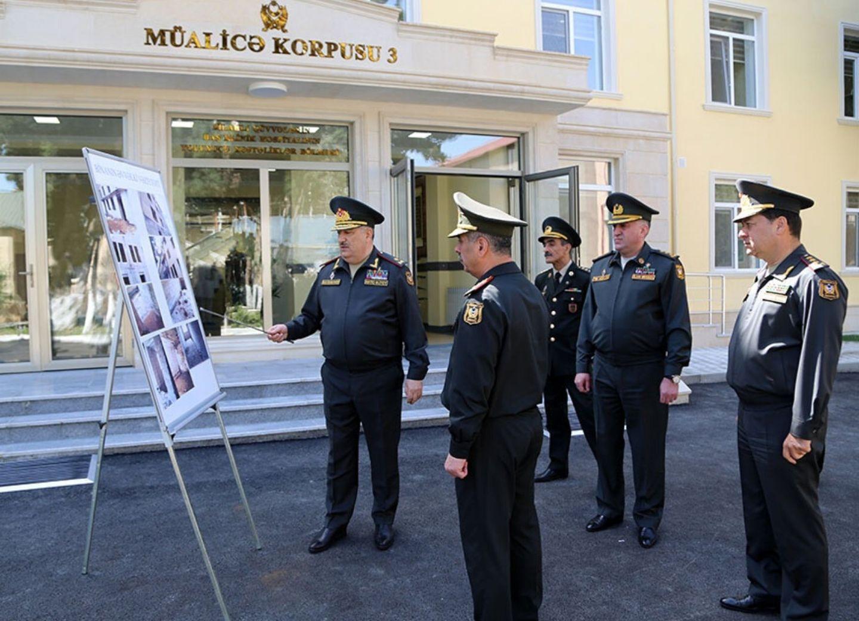 Закир Гасанов принял участие в открытии нового корпуса Главного клинического госпиталя ВС – ФОТО - ВИДЕО